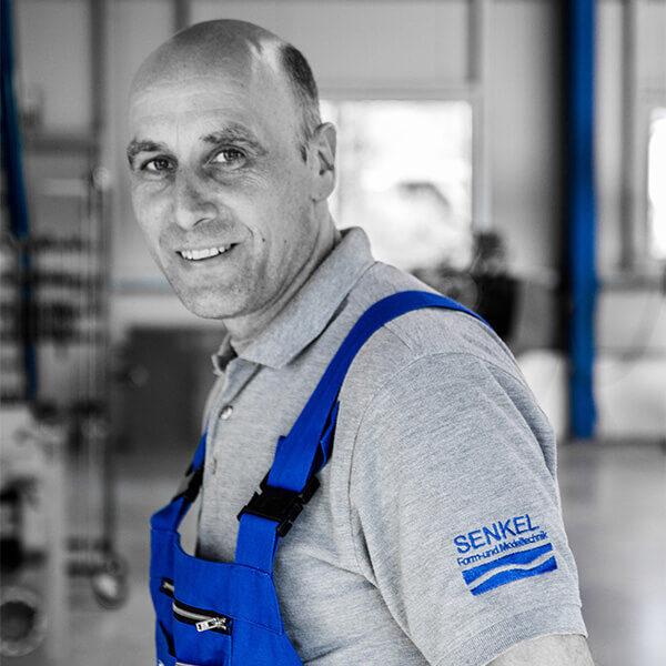 Heiko Senkel, Geschäftsführer von Senkel Werkzeugbau
